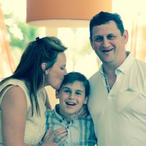 Richard Flaks, South Africa/USA | Father of Bar Mitzvah Boy Ryan