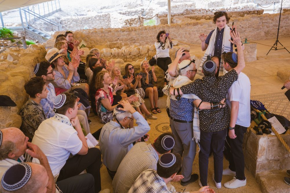Bar Mitzvah Ein Gedi Ancient Synagogue Chabad