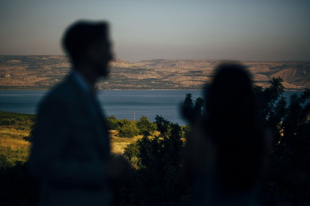 Kinneret Wedding Isarel
