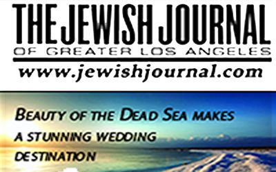 Beauty of the Dead Sea makes a stunning wedding