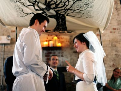 Jewish Wedding At The Green Building Brooklyn New York 28