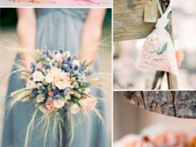 Pink And Dusty Blue Wedding Color Palette Ideas And Trends