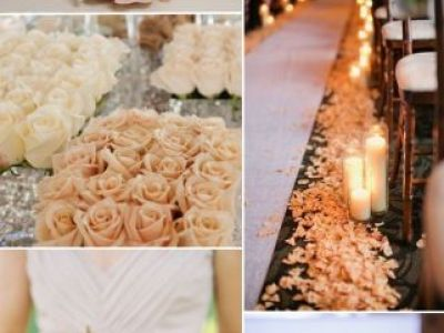 Rose And Apple Green Wedding Color Inspiration Ideas 2015