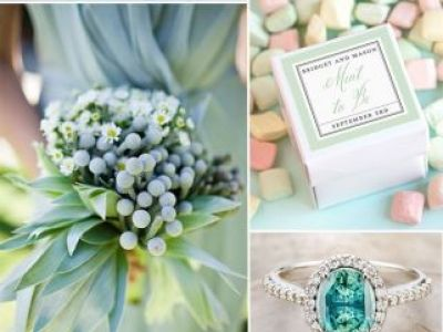 Trending Mint And Blue Wedding Color Ideas For Spring Summer Wedding 2016