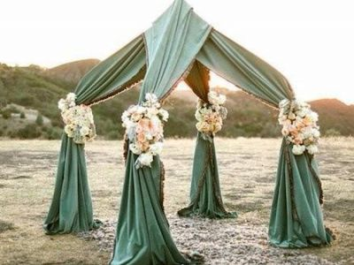 Unusual Outdoor Chuppah1