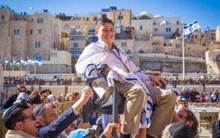 Dans bar mitzvah in jerusalem, israel. event planner