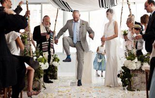 jewish wedding ritual breaking the glass